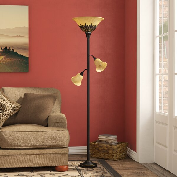Arbor Glen 71 Torchiere Floor Lamp by Fleur De Lis Living