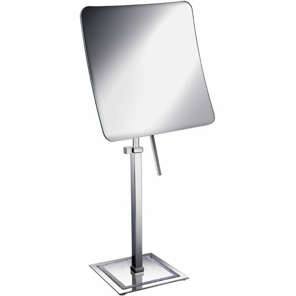 Pavilion Square Makeup/Shaving Mirror by Rosdorf Park
