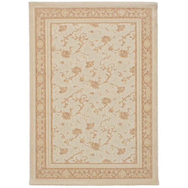 Himes Cream Area Rug by Alcott Hill