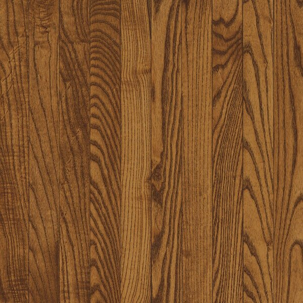 Dundee 2-1/4 Solid White Oak Hardwood Flooring in Fawn by Bruce Flooring