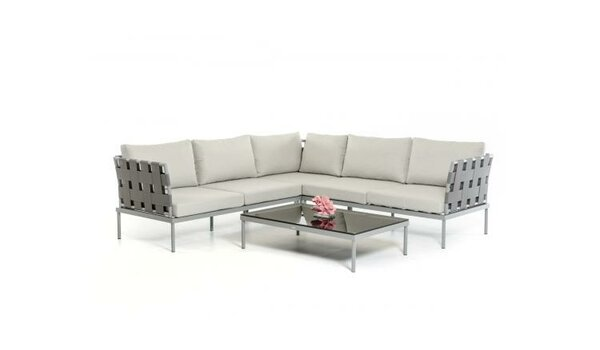 George 3 Piece Sectional Set by Wade Logan