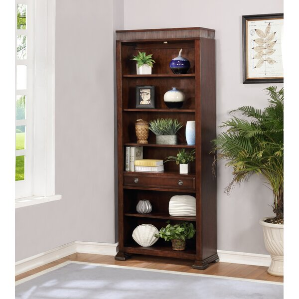 Lintz Standard Bookcase by 17 Stories