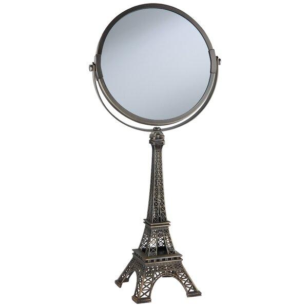 Paris Makeup/Shaving Mirror by Wildon Home ®