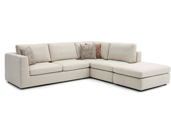 2018 Best Brand Emily Sectional by Focus One Home by Focus One Home