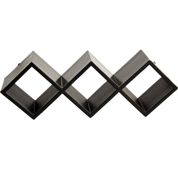 Guilaine Leather Wall Shelf by Ebern Designs