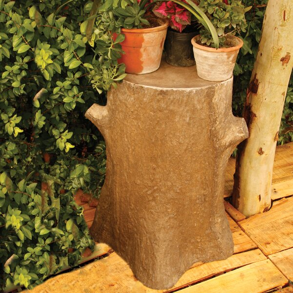 Tree Trunk Outdoor Pedestal by OrlandiStatuary