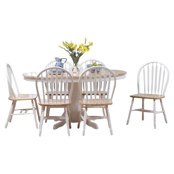 Gennevilliers 7 Piece Dining Set by Lark Manor