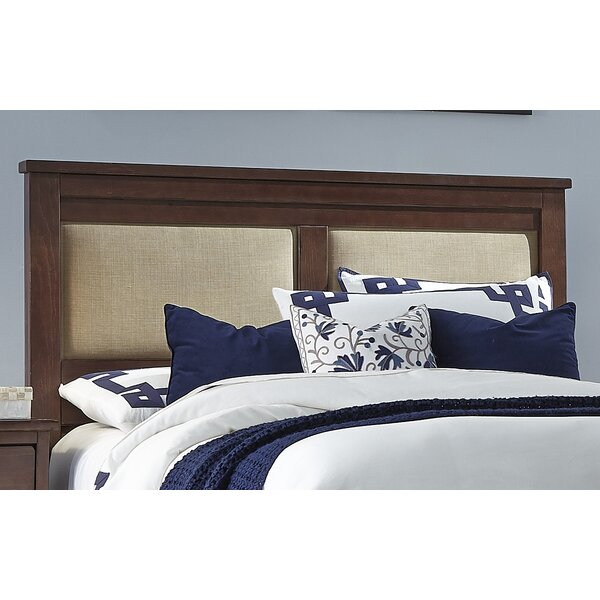 Egon Upholstered Panel Headboard by Darby Home Co