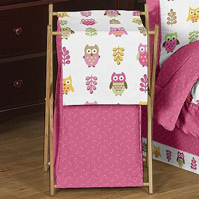 Happy Owl Laundry Hamper by Sweet Jojo Designs