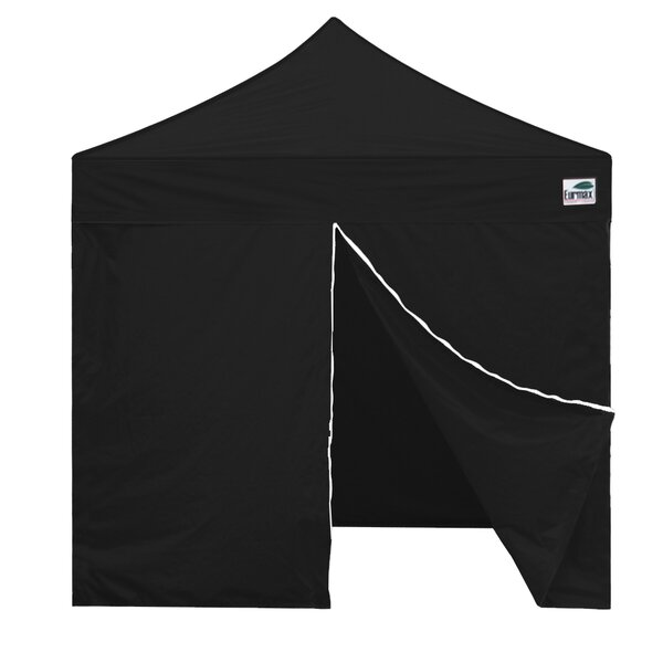 Commercial 8 Ft. W x 8 Ft. D Steel Pop-Up Canopy by Eurmax
