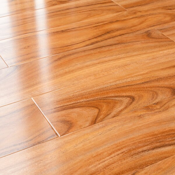 5 x 48 x 12mm Pine Laminate Flooring in Hickory Glossy by Kronoswiss