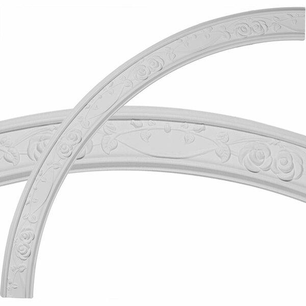 Flower 55 3/4H x 55 3/4W x 3 1/4D Ceiling Ring by Ekena Millwork
