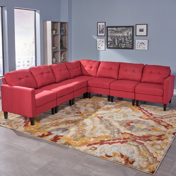 Micaela Modular Sectional by Red Barrel Studio