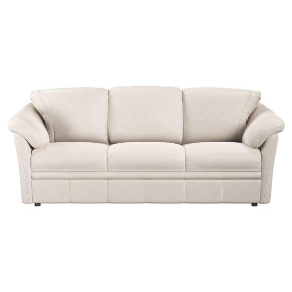 Lyons Leather Sofa by Westland and Birch Westland and Birch