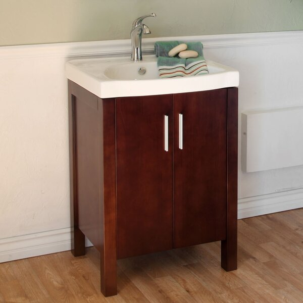 Bergman 24 Single Bathroom Vanity Set by Bellaterra Home