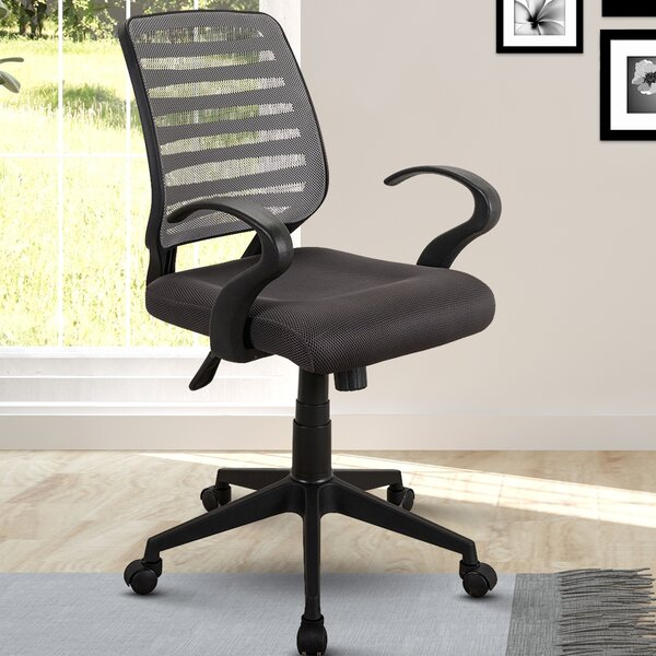 Hayden Rolling Mid-Back Mesh Office Chair by Ebern Designs
