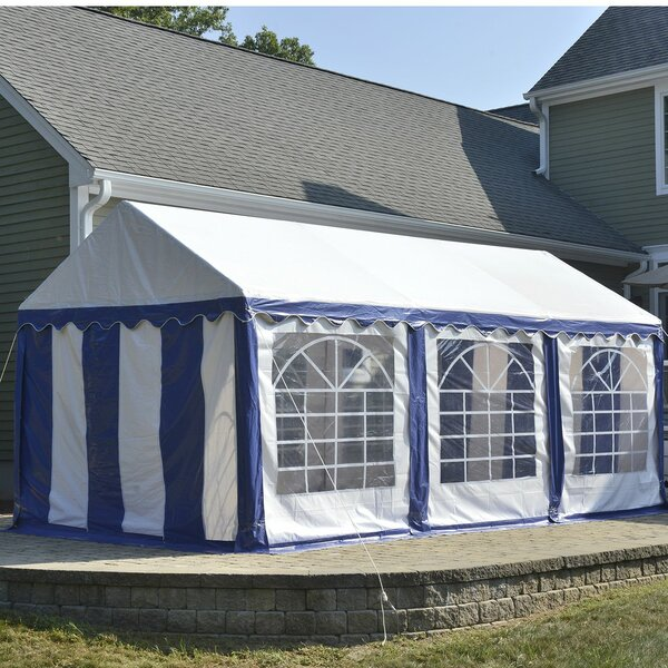 10 Ft. W x 20 Ft. D Steel Party Tent by ShelterLogic