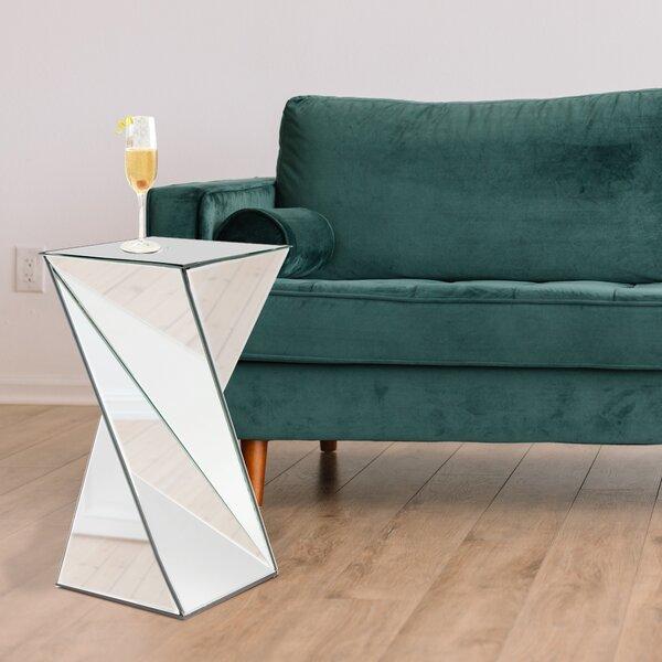 Selena End Table by Orren Ellis Orren Ellis