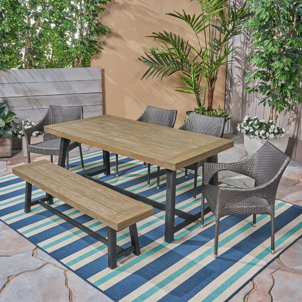Wyncote 6 Piece Dining Set by Union Rustic Union Rustic