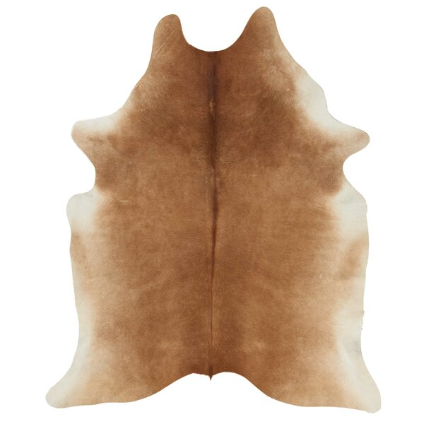 Guymon Leather Brown Area Rug by Trent Austin Design