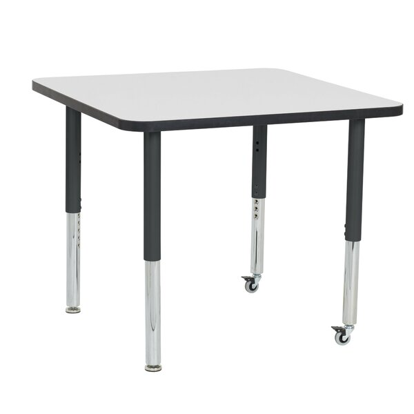 Dry-Erase Adjustable 36 Square Activity Table by ECR4kids