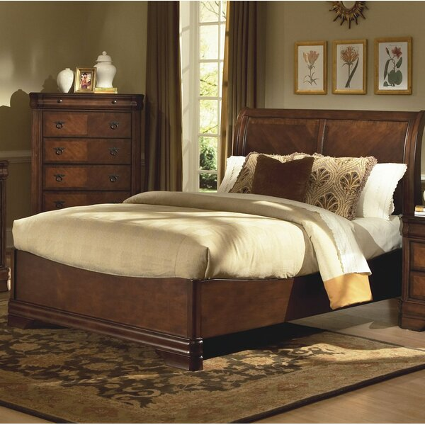 Bracamonte Sleigh Bed by Charlton Home