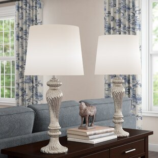 Where buy  Lowrey Glass 26 Table Lamp (Set of 2) By Astoria Grand