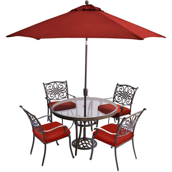 Reyer Traditions 5 Piece Dining Set by Astoria Grand