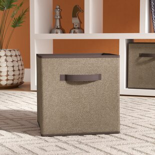 Faux Jute Storage Cube (Set of 2) By Rebrilliant