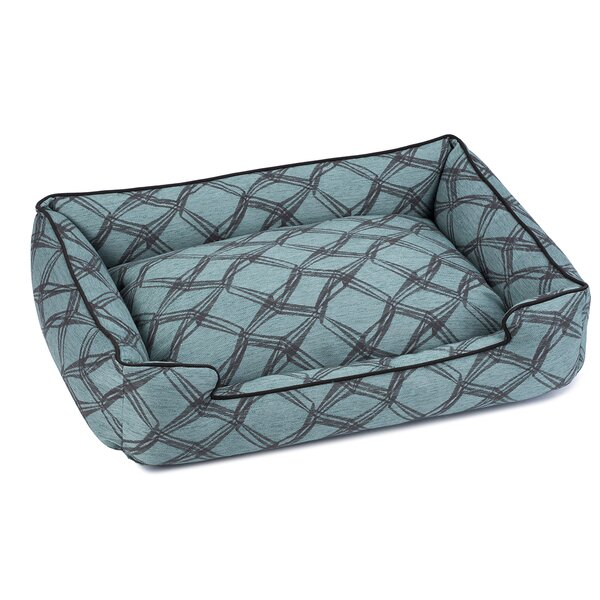 Crosby Premium Cotton Lounge Dog Bed by Jax & Bones