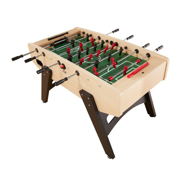 Milan European Foosball Game Table by Playcraft
