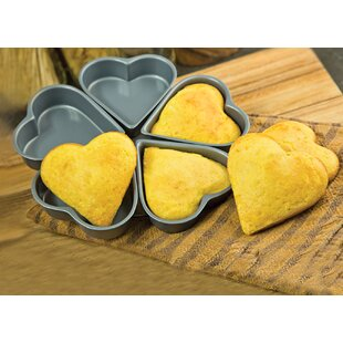 Compare prices Non-Stick Linked Heart Pan ByFox Run Brands