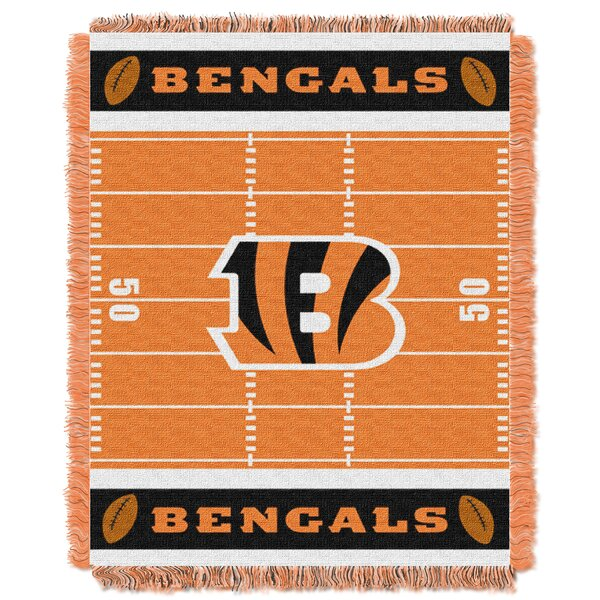 NFL Bengals Field Baby Blanket by Northwest Co.