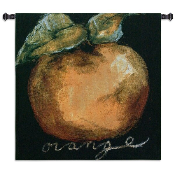 Still Life Orange by Nicole Etienne Tapestry by Fine Art Tapestries