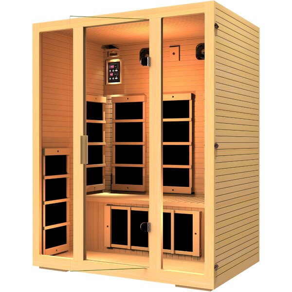 Joyous 3 Person FAR Infrared Sauna by JNH Lifestyles