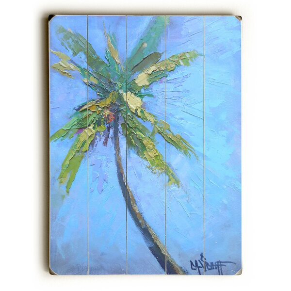 Lone Palm Painting Print by Bay Isle Home