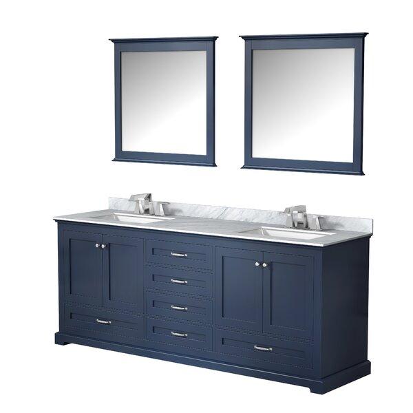 Drumgurland 80 Double Bathroom Vanity Set with Mirror