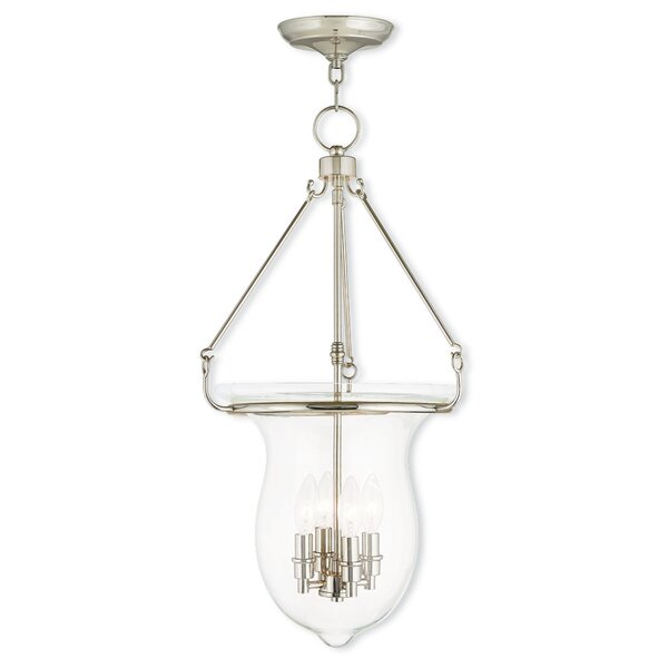 Brentwood 4-Light Urn Pendant by Bay Isle Home