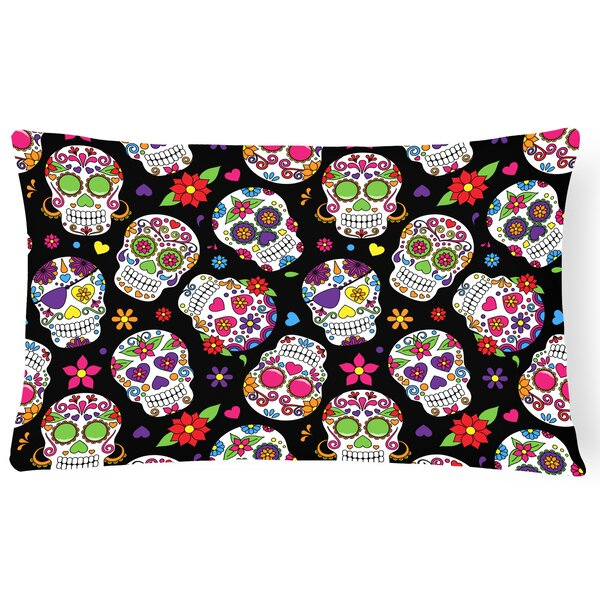 Day of the Dead Lumbar Pillow by East Urban Home