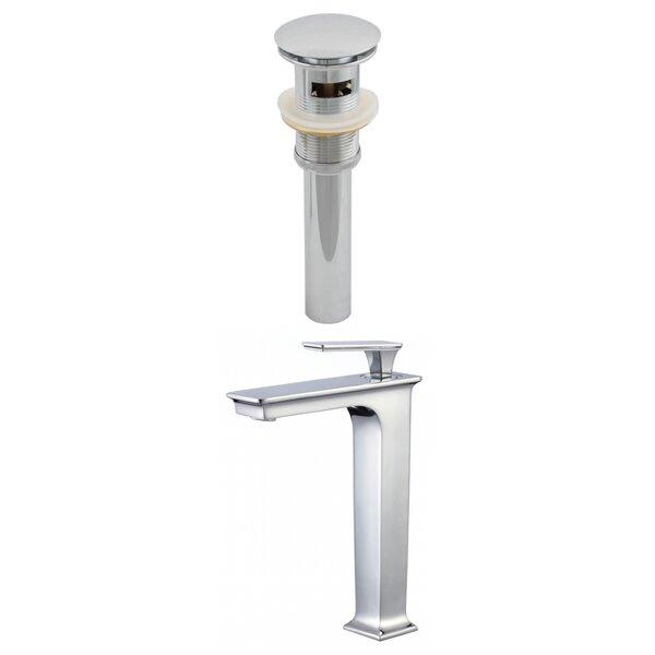Dante Stainless Steel Vessel Sink Bathroom Faucet by Avanities Avanities