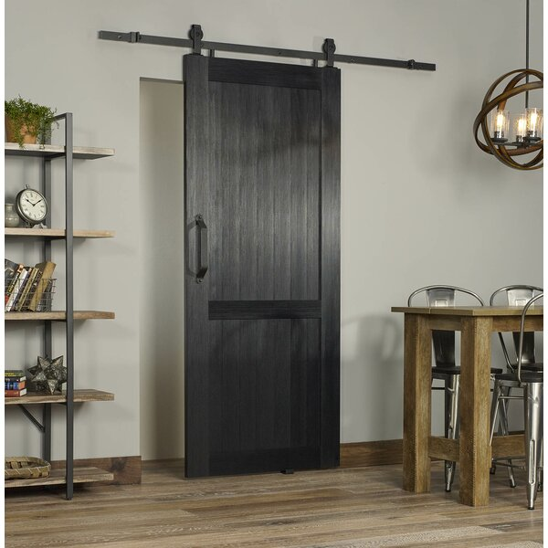 Millbrooke PVC Hollow Panelled Plastic Interior Barn Door by LTL Barn Doors