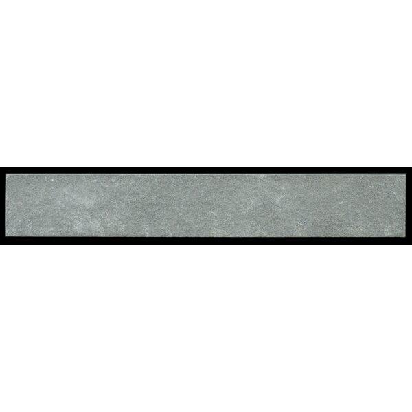 Cladding 2 x 11.75 Stone Field Tile in Black Coral by Kellani