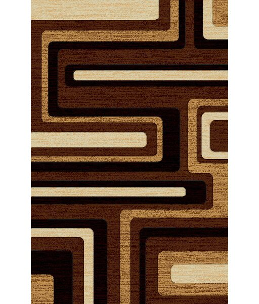 LifeStyle Brown Indoor/Outdoor Area Rug by Rug Factory Plus