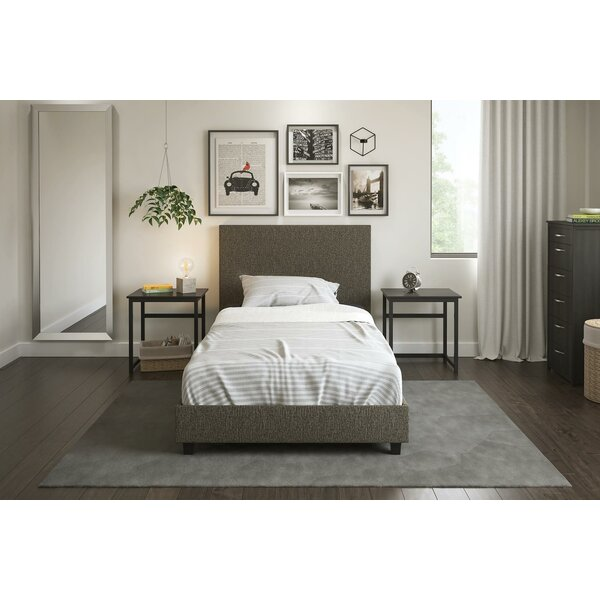 Hayley Upholstered Platform Bed by Trule Teen