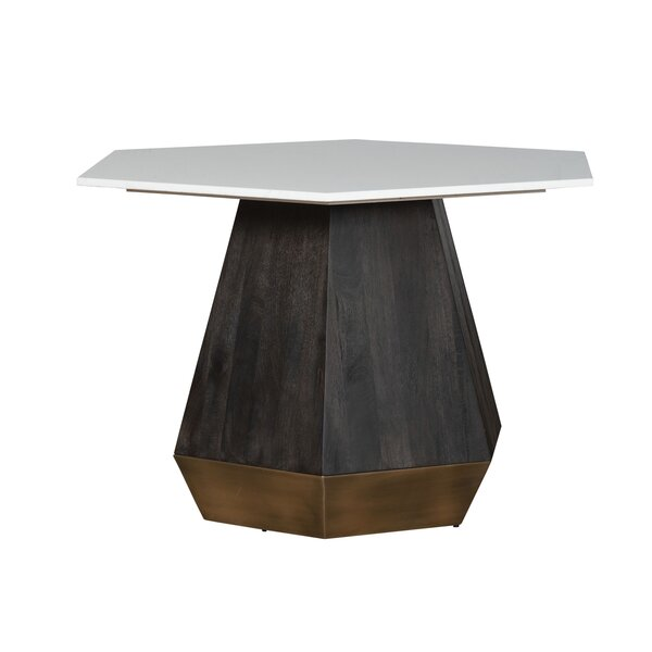 Kain Dining Table by Everly Quinn Everly Quinn