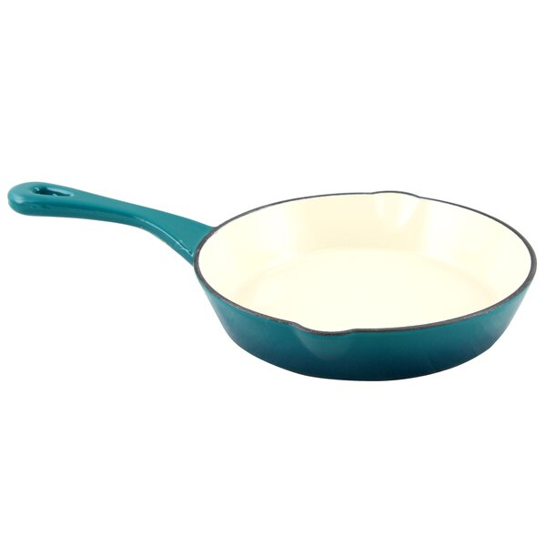 Artisan Enameled 8 Non-Stick Frying Pan by Crock-p