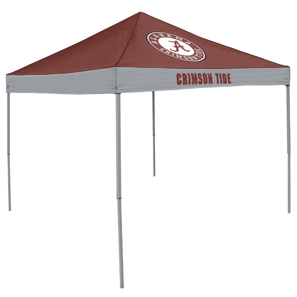 NCAA Economy 9 Ft. W x 9 Ft. D Metal Pop-Up Canopy by Logo Brands