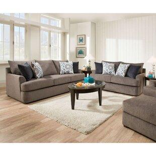 Esjay 2 Piece Configurable Living Room Set by Latitude Run®