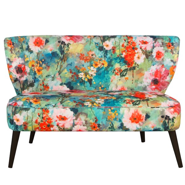 Find Out The New Kaia Armless Settee by Ivy Bronx by Ivy Bronx