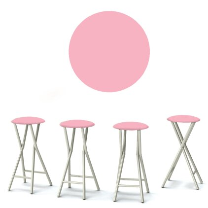 Ice Cream Parlour 30'' Patio Bar Stool (Set of 4) by Best of Times